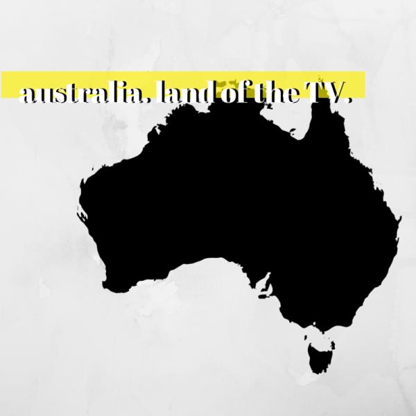 australia. land of the TV. (1)